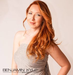 all over red hair color Benjamin Kyle Salon Cocoa FL